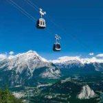 Banff Gondola up Sulphur Mountain