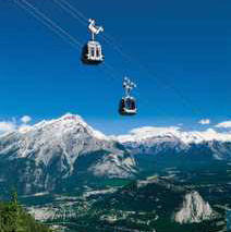 Banff Gondola up Sulphur Mountain