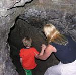 Cave at Johnston Canyon, Banff National Park