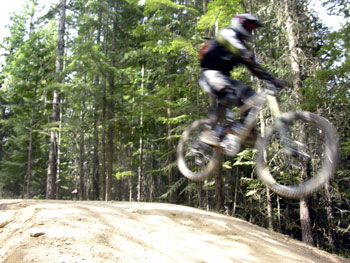 Mountain Biking at Whistler