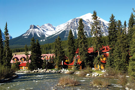 Post Hotel, Pipestone River, Banff National Park
