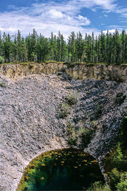 Sink Hole, Wood Buffalo National Park