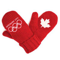 HBC Red Mitts