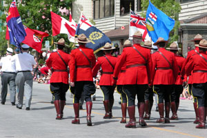 Mounties-in-Parade