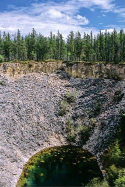 Sink Hole, Wood Buffalo National Park