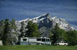 Camping on Tunnel Mountain