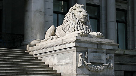 Vancouver Art Gallery Lion