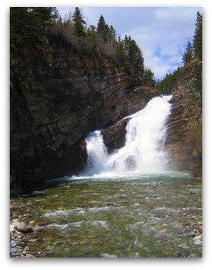 Cameron Falls, Waterton National Park